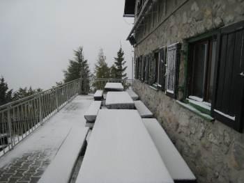 Prvi sneg - prve KLJUKE
