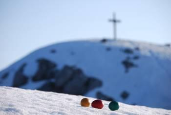 Velikonočni pirhi na Storžiču