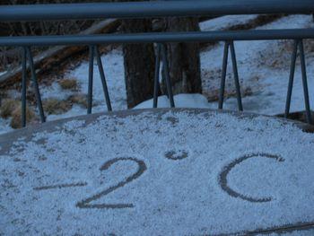 Nobenega mraza več :)