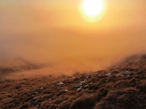 Sonce, megla, veter, Storžič,...