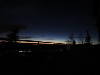 Nočna panorama s Kališča