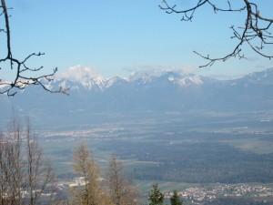 Panorama - naši hribi