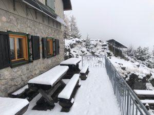 Prvi sneg v sezoni